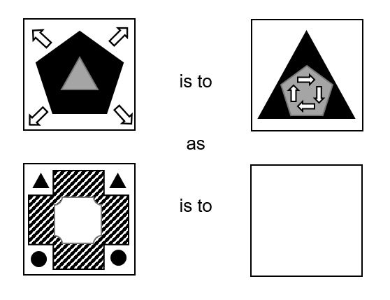 Abstract Reasoning Practice Question 2